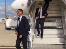 O Real Madrid já está em Paris. RealMadrid