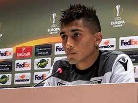 Raphinha (V.Guimarães) é um dos alvos do Sporting CP. Twitter/VSC