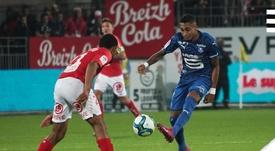 El Rennes se quejará por lo ocurrido con el VAR. Twitter/staderennais