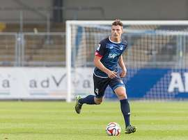 Rapp, en un partido con el Hoffenheim. Bundesliga