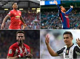Rashford, Dybala, Messi and Saul have all been busy this year. BeSoccer