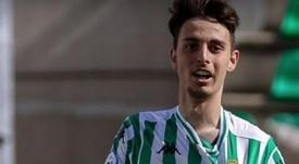 Raúl debutó ante el Levante. Captura/RealBetis