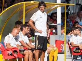 Raúl González Blanco a fait l'éloge de Rodrygo. EFE