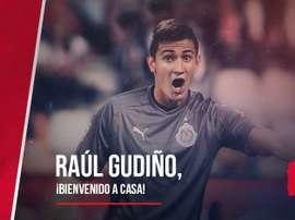 Raúl Gudiño, nuevo portero de Chivas. Chivas