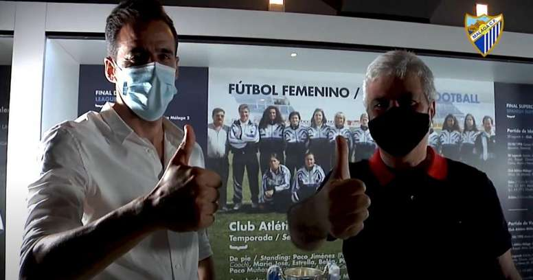 El Málaga sigue apostando por el femenino. Captura/MálagaCF