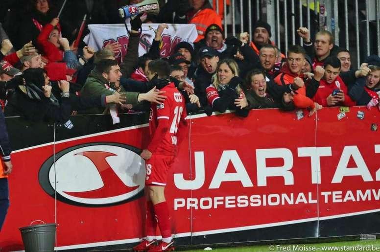 Razvan Marin costará 12 millones al Ajax. StandardLieje/FredMoisse