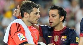 Iker y Xavi compartieron mil y un partidos. AFP