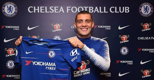 Kovacic has joined the club on a season-long loan deal. ChelseaFC