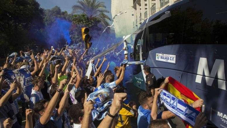 El Málaga mantiene los mismos precios de los abonados. MalagaCF