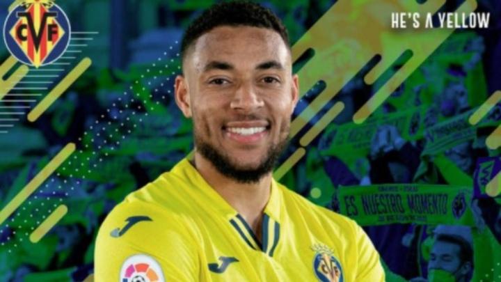 Arnaut Danjuma firma con el Villarreal. Captura/VillarrealCF
