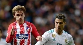 Pavón cree que este 2018 Griezmann sí se ha acercado al nivel de Cristiano y Messi. AFP
