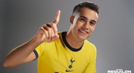 Sergio Reguilón est la nouvelle recrue de Tottenham. Twitter/Spurs_ES
