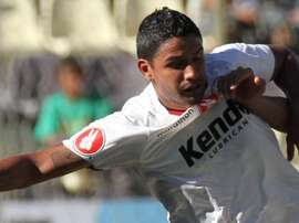 Reimond Manco, uno de los goleadores para León de Huánuco. Twitter