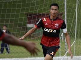 Chelsea also want Reinier. Twitter/Flamengo