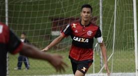 El Chelsea también quiere a Reinier. Twitter/Flamengo