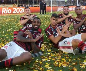 Jorge Jesus trusts in the quality of his player. Twitter/Flamengo