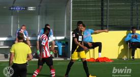 Reinier debutará de forma oficial con el Borussia Dortmund. Captura/BorussiaDortmund