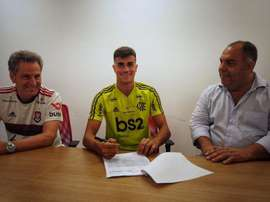 New details from Reinier's contract emerge. Twitter/Flamengo