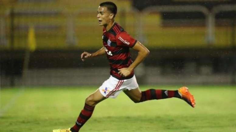 Duas novas equipes da Premier entram na briga por Reinier. /Twitter/Flamengo