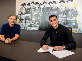 Reinier has signed for Dortmund. Twitter/BVB