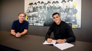 Reinier jogará no Borussia nas próximas duas temporadas.  Twitter/BVB