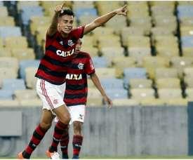 Reinier Jesus, objectif des plus grands. Capture/Flamengo