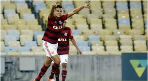 Il centrocampista del Flamengo Reinier accostato a Real e Atletico Madrid. Captura/Flamengo