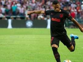 Setor defensivo é motivo de dúvidas no Atlético de Madrid. AFP