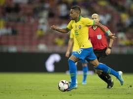 Renan Lodi, celui dont le Brésil avait besoin. Twitter/Renan_Lodi