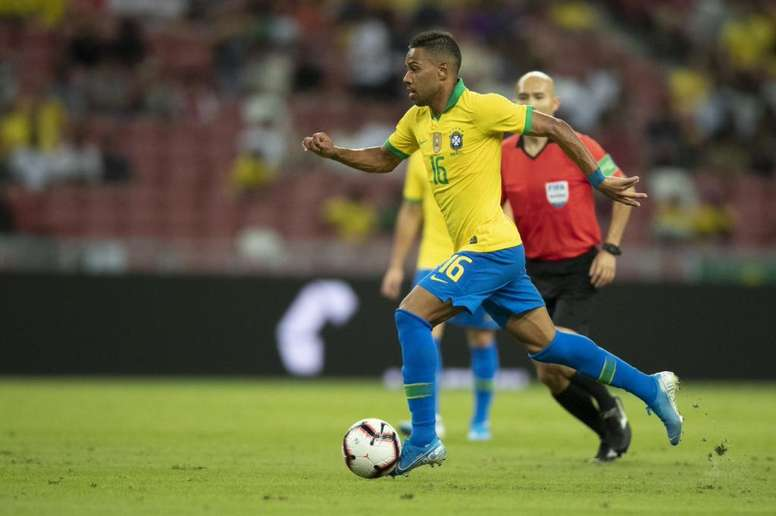 Brasil enfrenta Coreia do Sul em amistoso. Twitter/renan_lodi