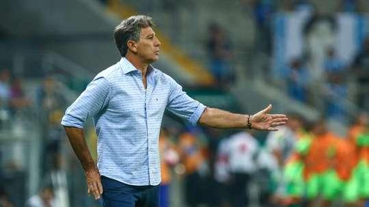 Grêmio já trabalha na renovação de Renato. EFE