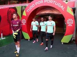 la directrice du foot portugais s'exprime. afp