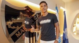Renato Santos aportará velocidad al Málaga. MalagaCF