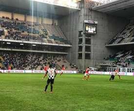 'Axadrezados' venceram na receção ao Feirense. Facebook/BoavistaFC