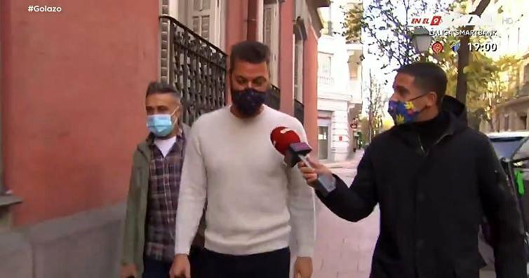 René Ramos no desveló nada sobre la renovación de Sergio. Captura/Gol