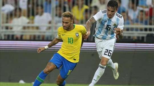 Saravia se sintió halagado por el interés desde España. AFP