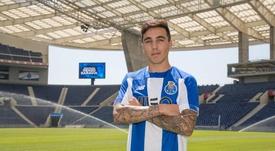 Saravia, ilusionado en su llegada a Porto. FCPorto