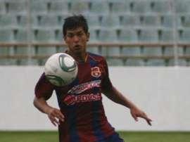 Renzo Zambrano, en su etapa como jugador de Monagas. Twitter