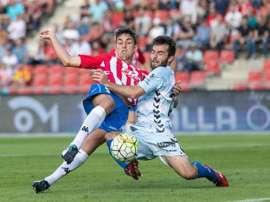 Reparto de puntos en el derbi regional de Segunda entre Girona y Llagostera. Twitter