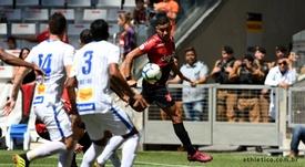 Avaí derrota reservas do Athletico com golaço em Curitiba. Twitter @AthleticoPR
