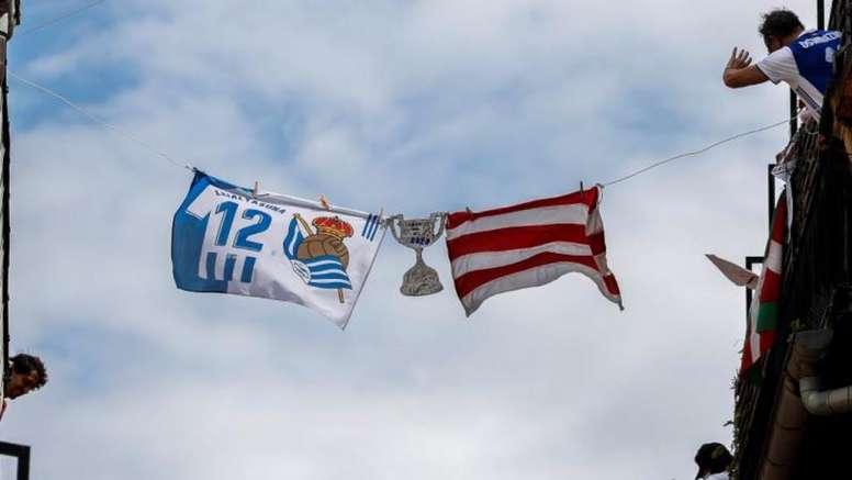 La Supercopa podría celebrarse antes que la final de Copa. EFE