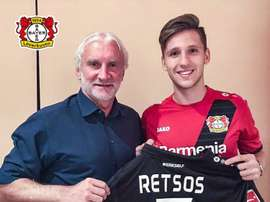 Retsos has signed for Bayer Leverkusen from Olympiacos. Bayer04