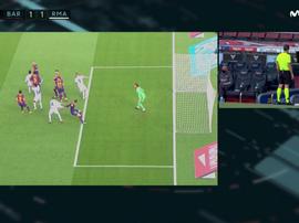 Ramos porta in vantaggio il Rea. Movistar/LALiga