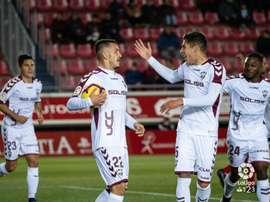 Rey Manaj abrió el marcador en el Numancia-Albacete. LaLiga