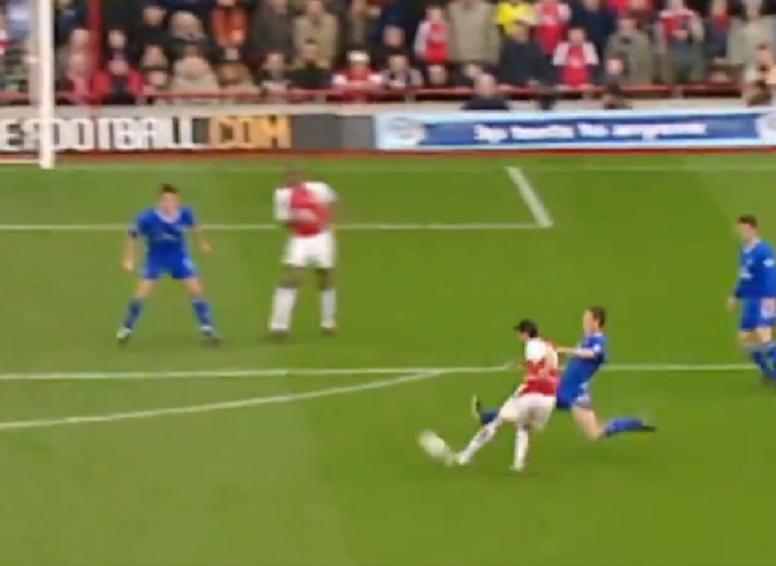 Arsenal relembra momento histórico. Captura/Arsenal