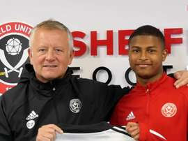 Brewster has signed. Captura/SheffieldUnited