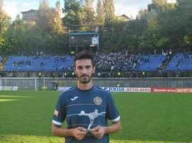 Riad Bajic, primer goleador europeo de la temporada. FkZeljeznicar