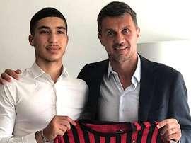 Milan recrute Tahar. ACMilan