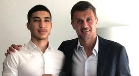 El Milan ficha a Tahar para el Primavera. ACMilan
