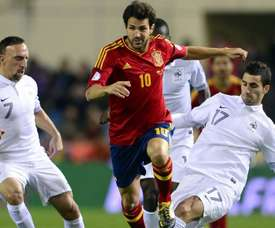 Fabregas talked about the 2010 World Cup. AFP